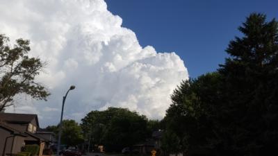 Gigantic thunderhead
