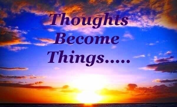 Thoughts Become Things sunset