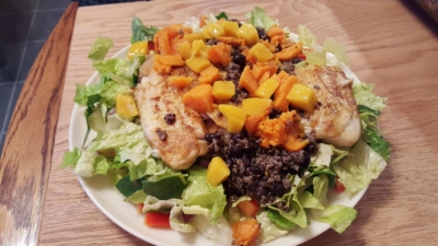 Tilapia salad