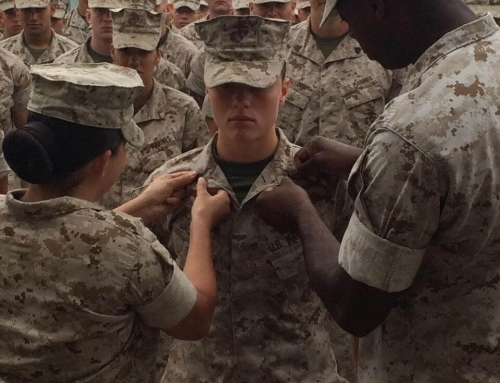 Will you help me honor this excellent United States Marine?