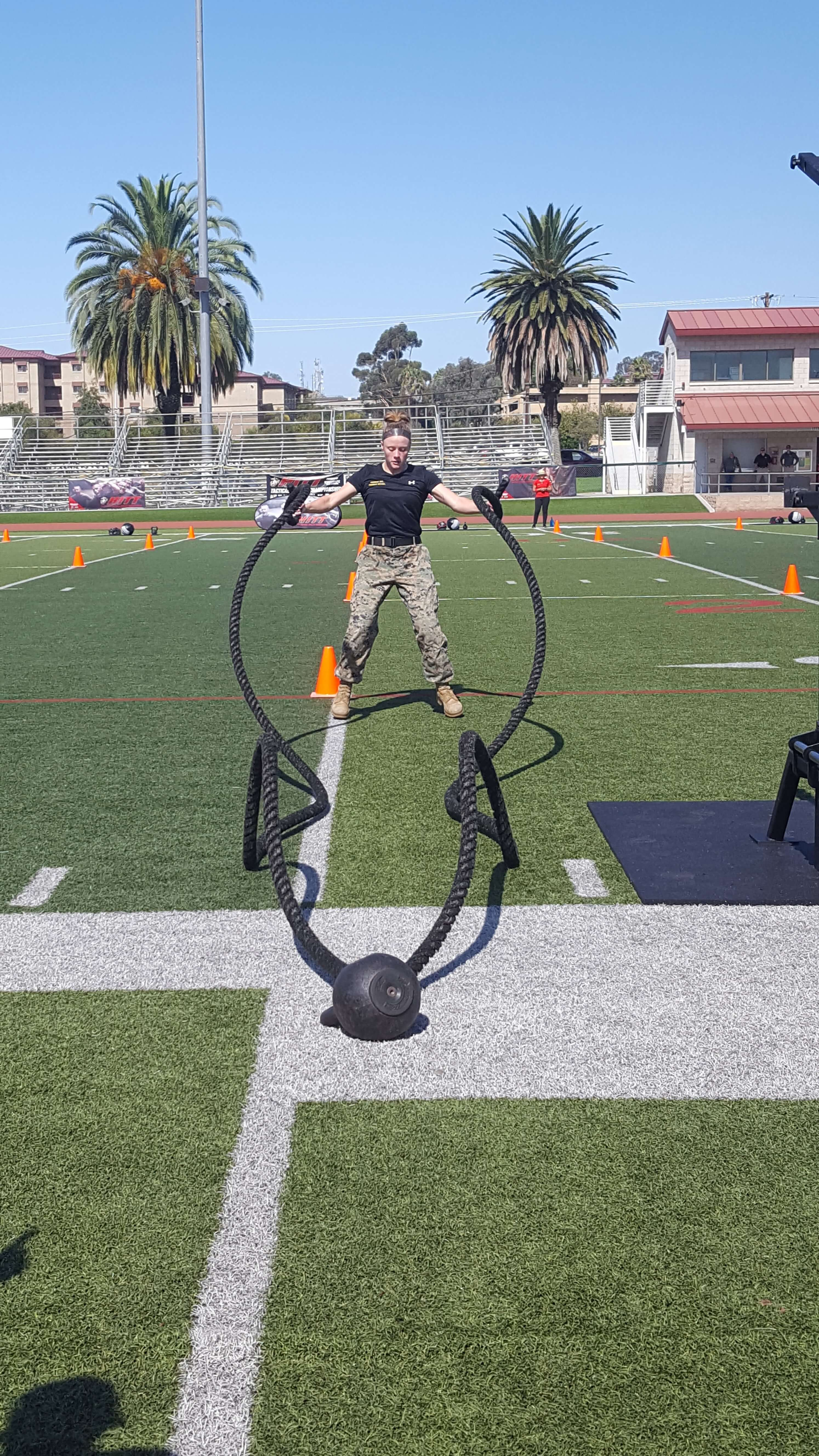 Reigning champ of the Marine's HITT competition