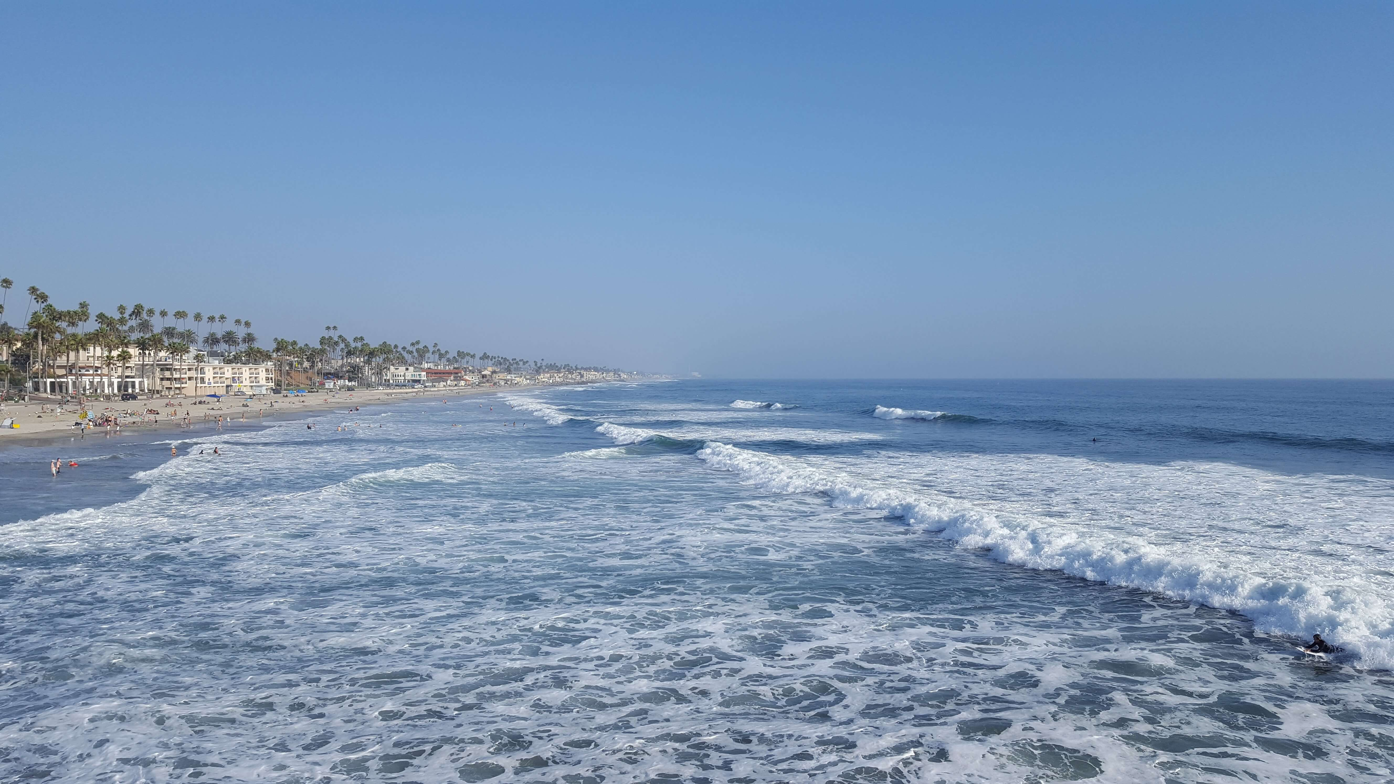 Beautiful day at Oceanside Pier