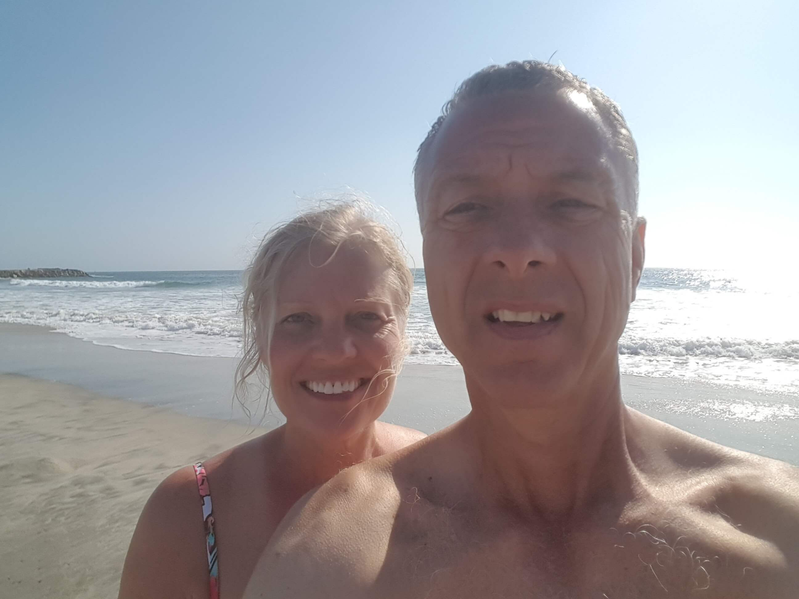Beach time on Camp Pendleton