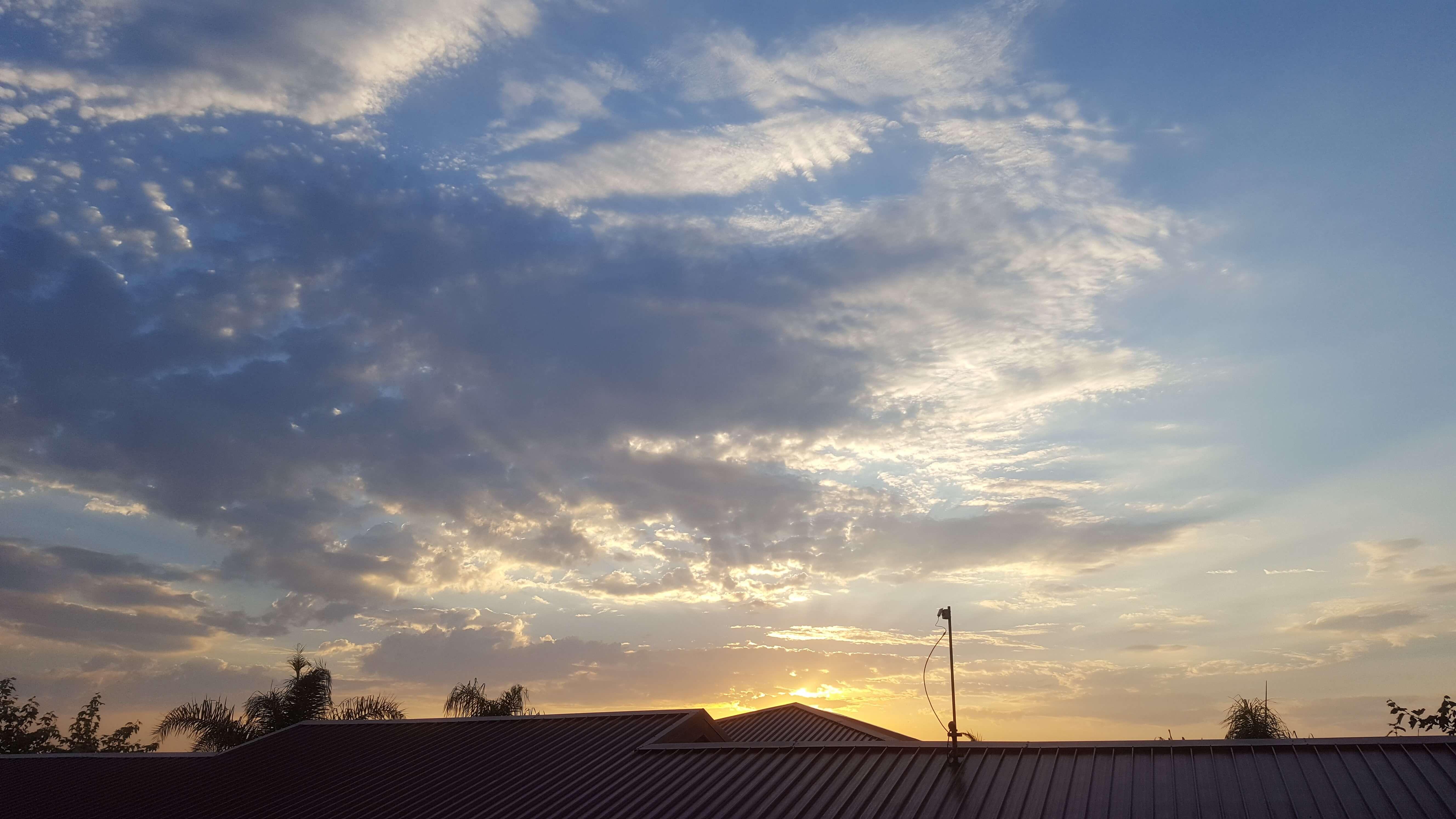 Morning dawns on Camp Pendleton