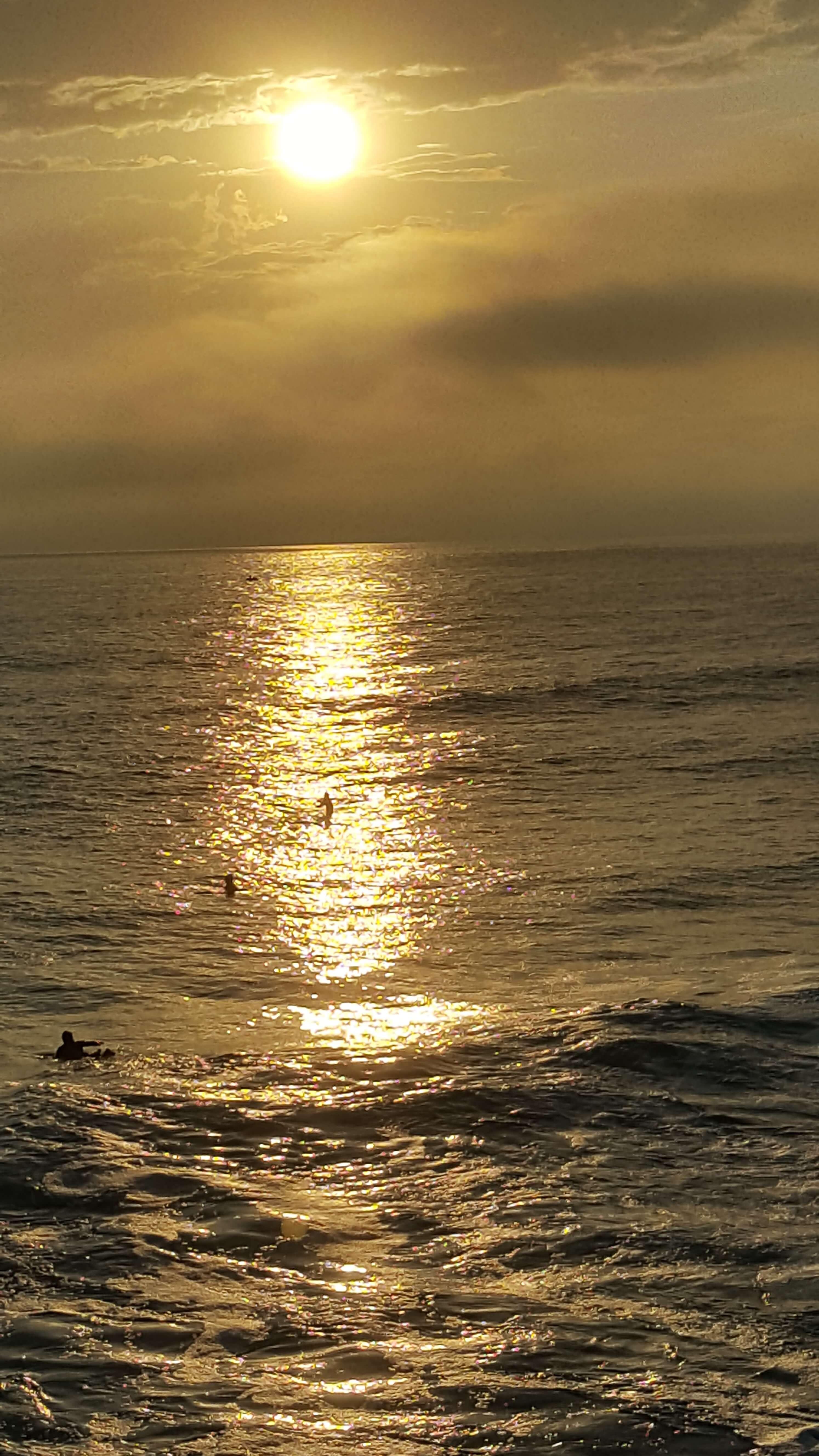 Golden nightfall at Oceanside Pier