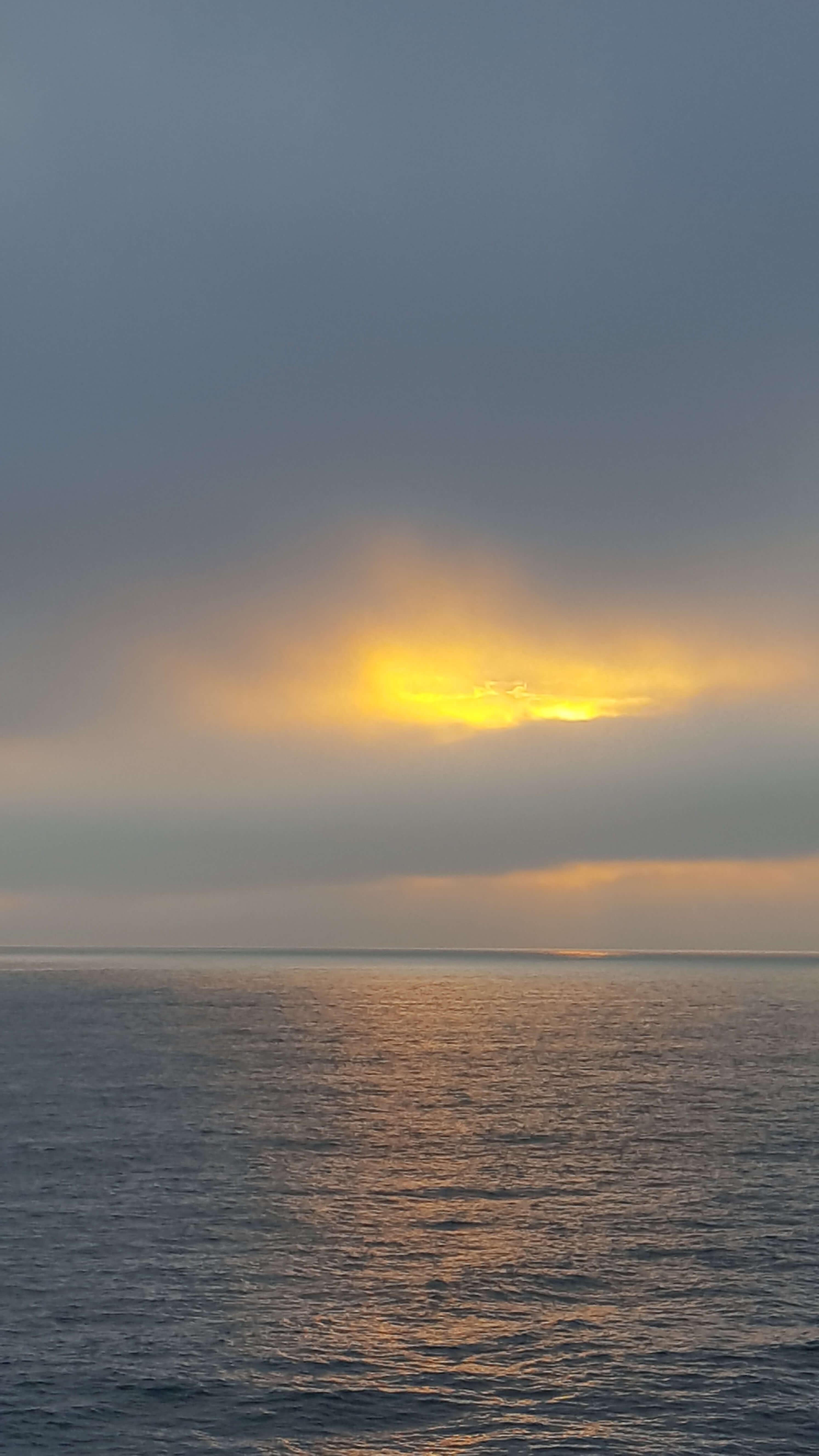 Fire in the sky near Oceanside Pier