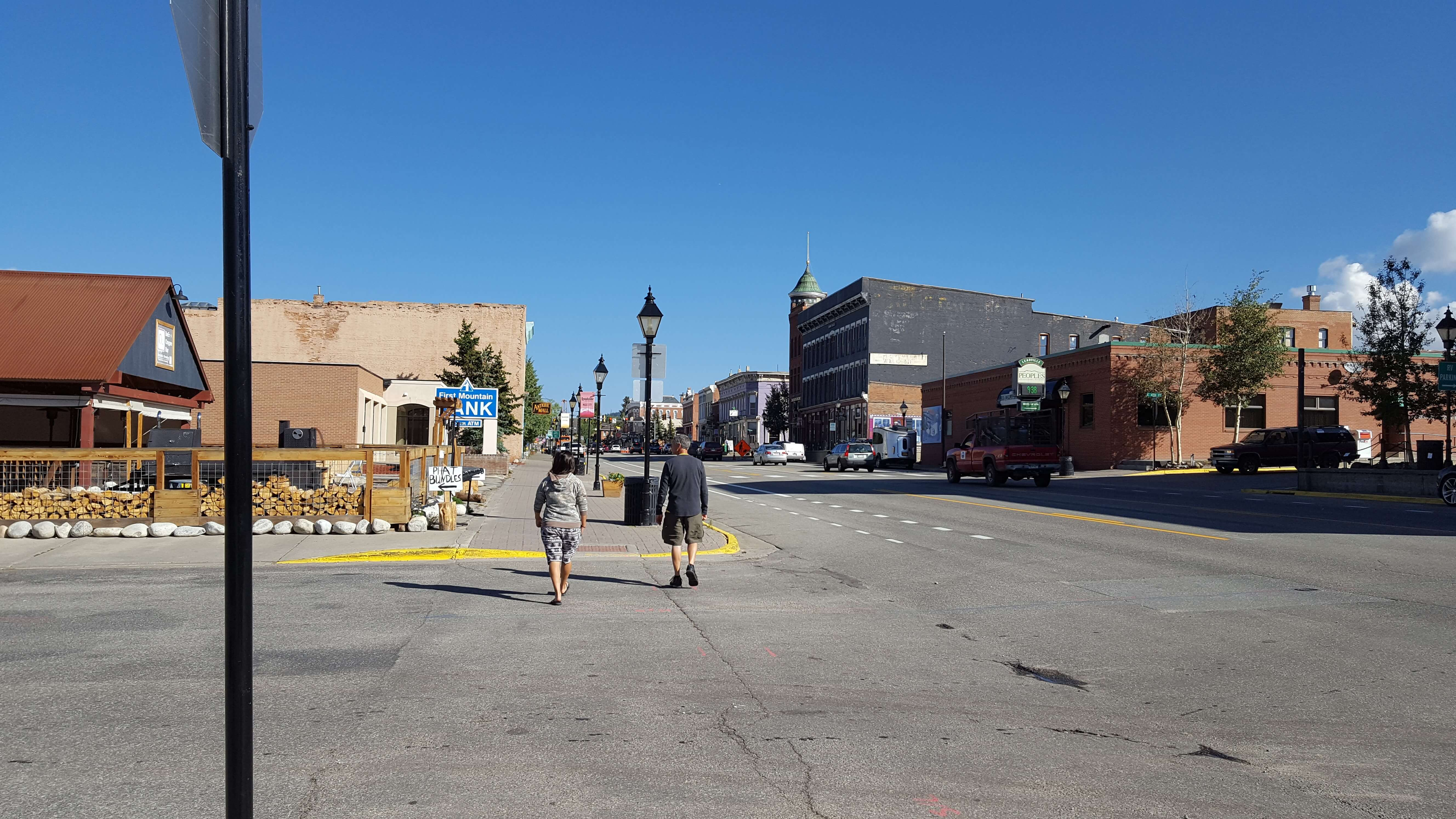 Walking the streets of Leadville