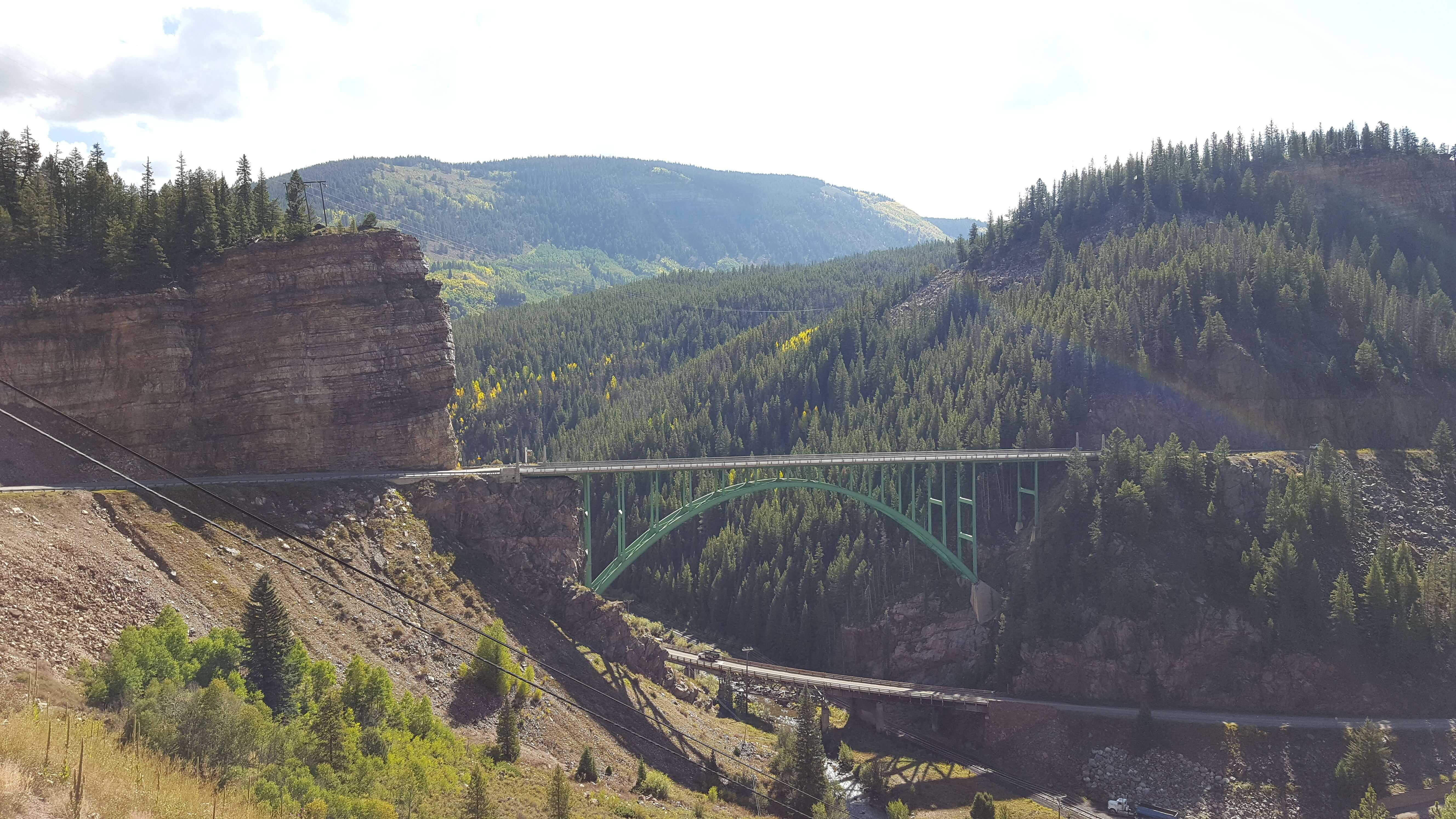 Red Cliff Bridge near Red Cliff, CO