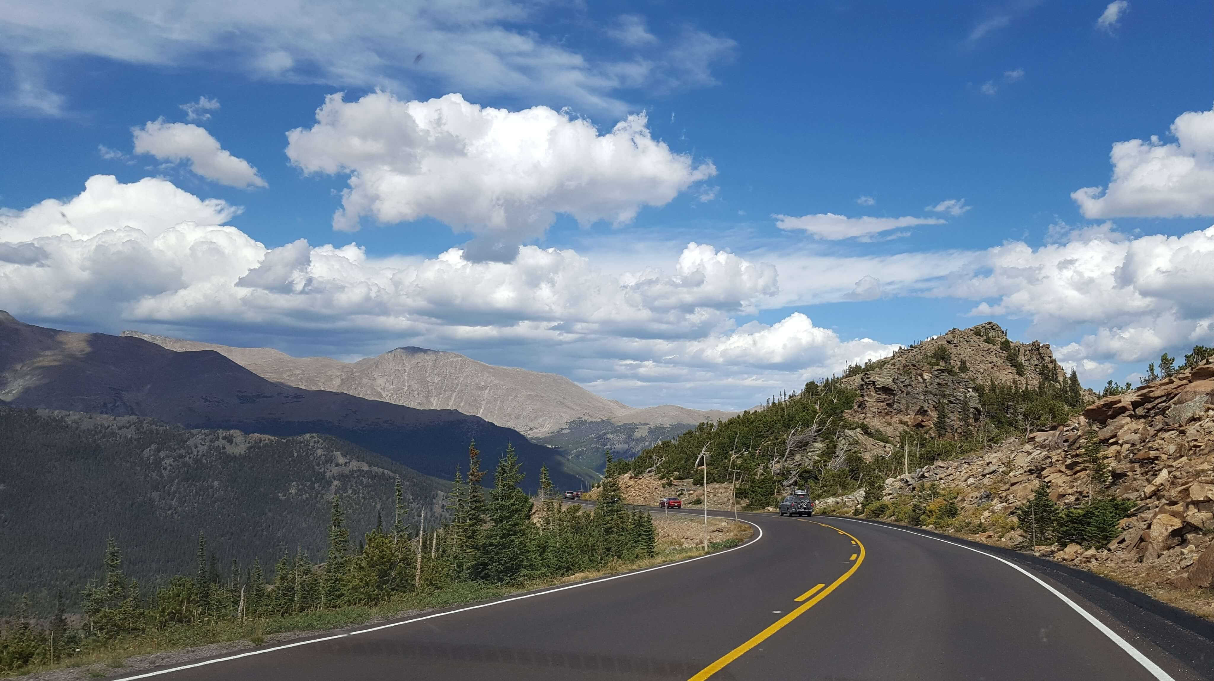 Trail Ridge Road in all its splendor