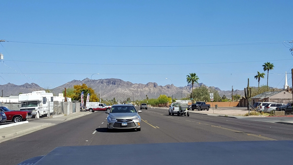 A beautiful Apache Junction morning