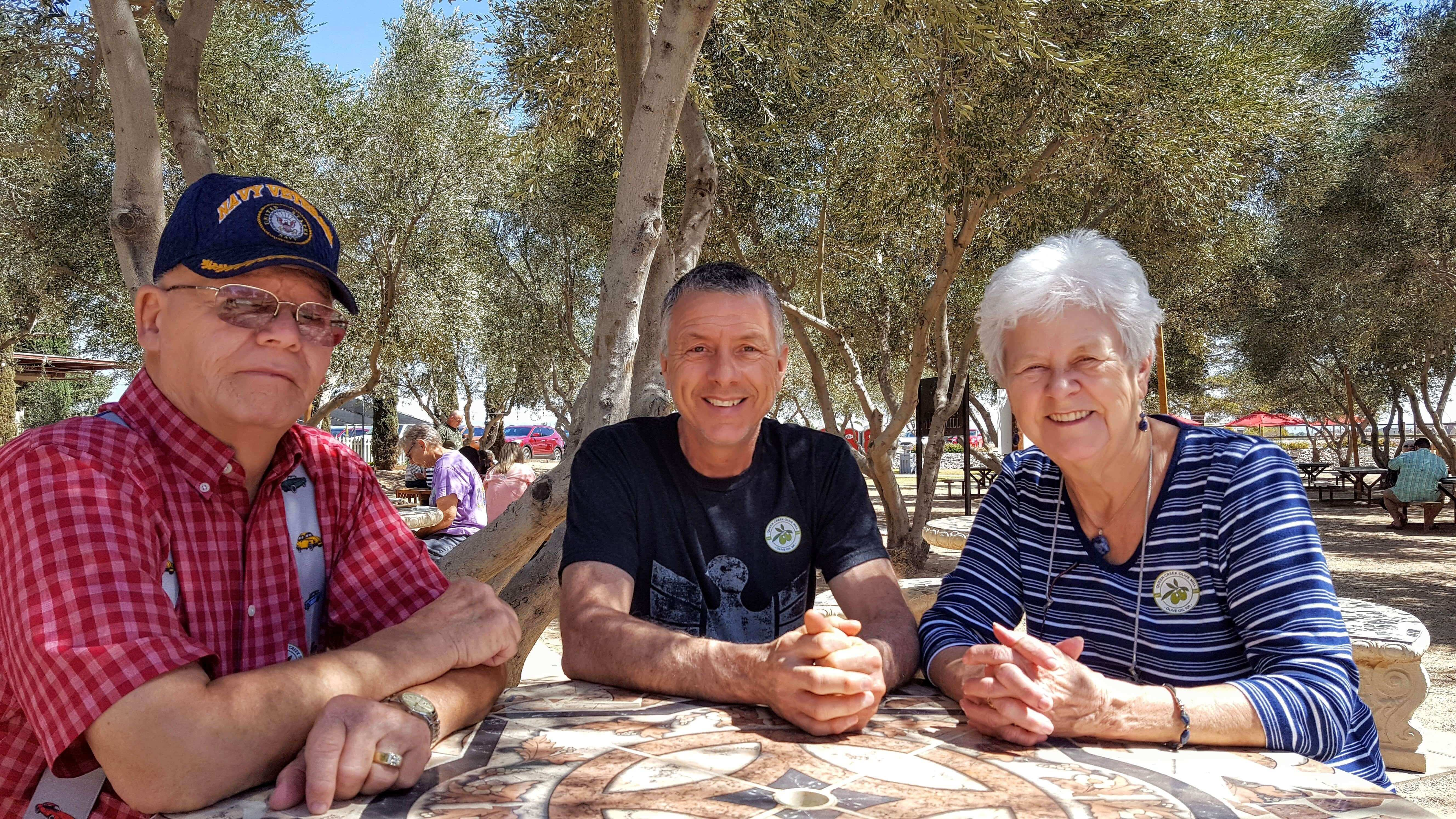 Fun at Queen Creek Olive Mill, Queen Creek, AZ