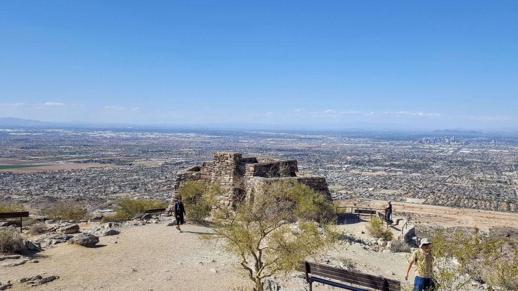 Dobbins Point Lookout at South Mountain Park