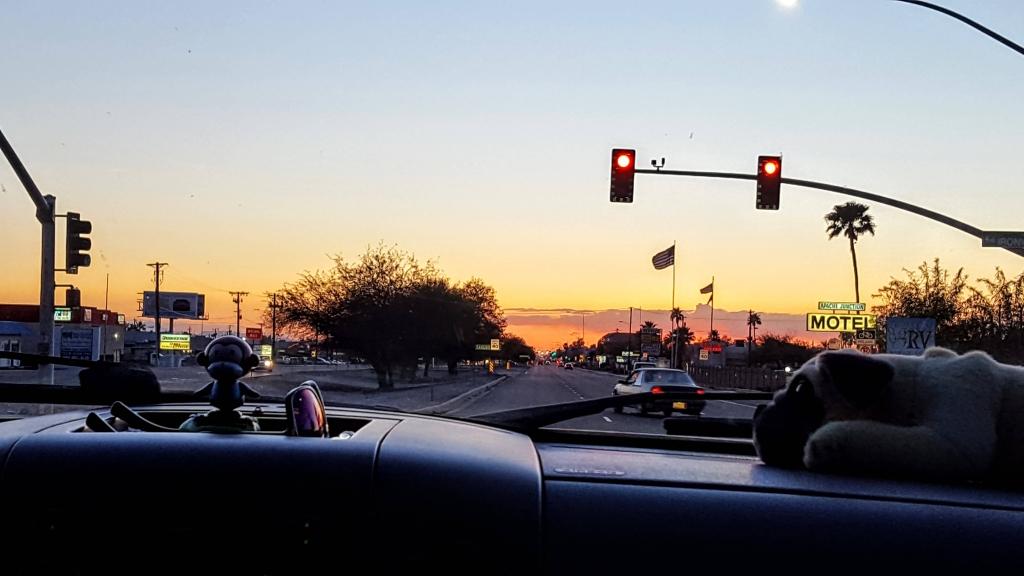 Sunset in Apache Junction, AZ
