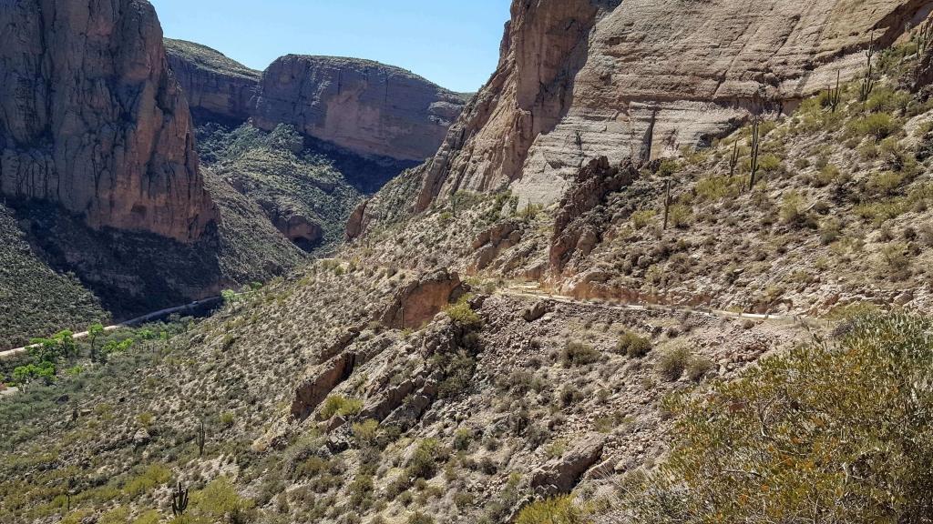 The remote and scenic Apache Trail