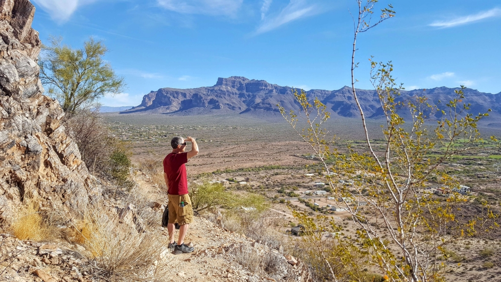 Silly Mountain and Superstition Mountains