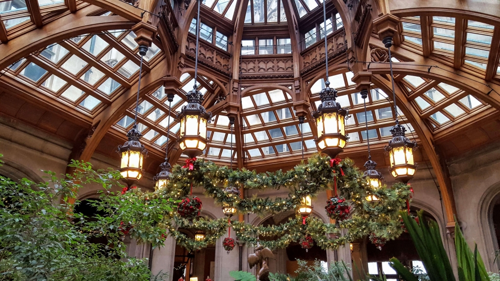 The winter garden in Biltmore