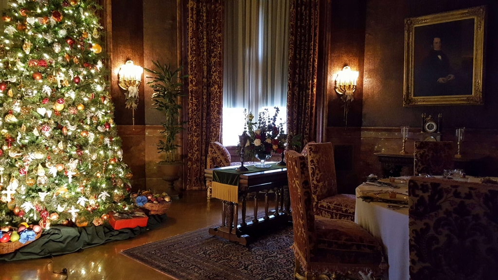 The family dining room at the Biltmore, Asheville, NC