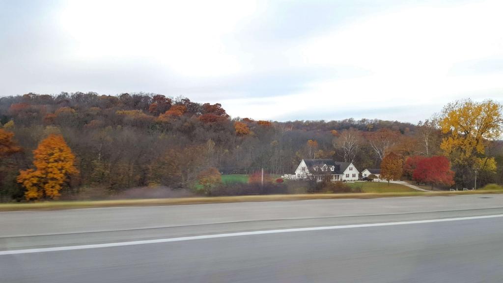 A cozy fall scene in Missouri