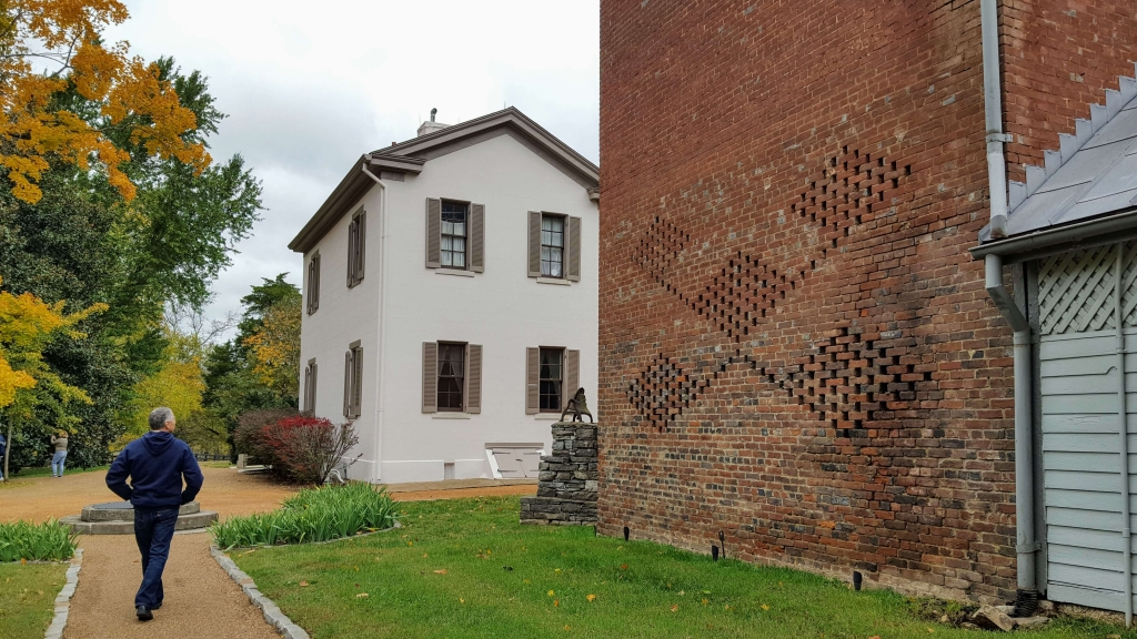 The smokehouse of the Belle Meade Plantation