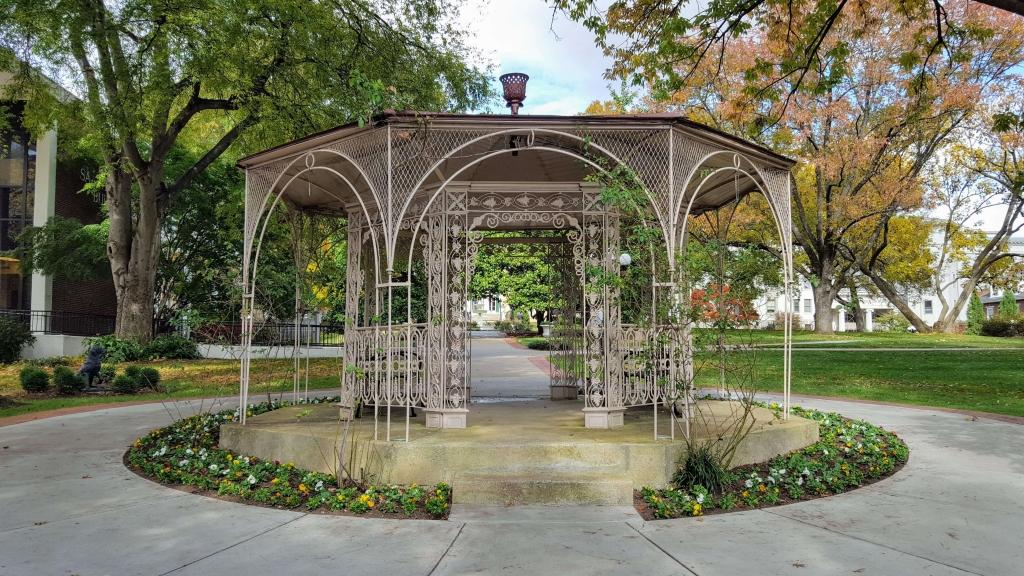 Original gazebo on Belmont Mansion grounds in Nashville, TN