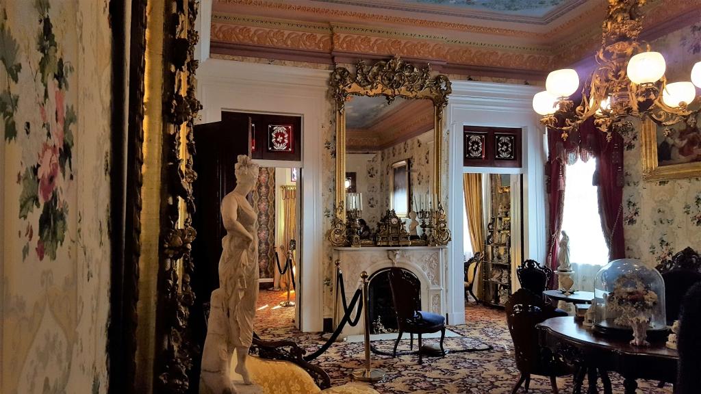 Central parlor at Belmont Mansion, Nashville, TN