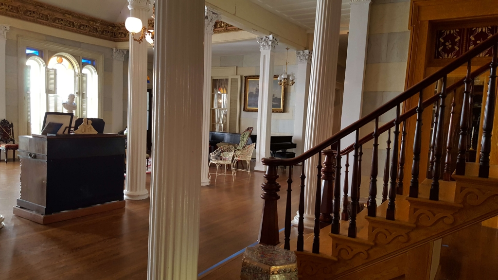 The Grand Staircase and Grand Salon at Belmont in Nashville, TN