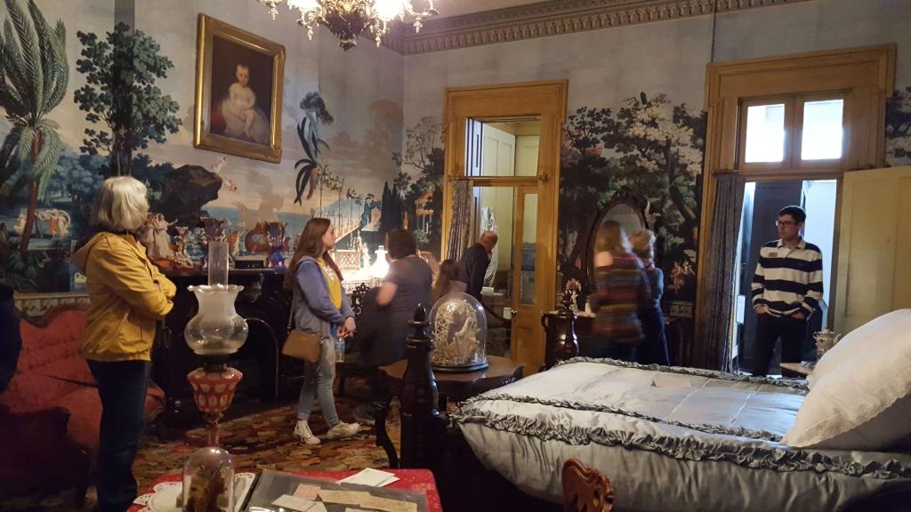 Adelicia's bedroom, Belmont Mansion, Nashville, TN