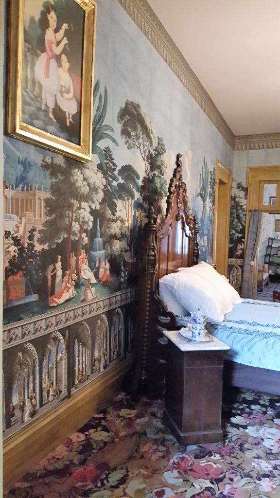 Adelicia Acklen's bedroom at Belmont Mansion, Nashville, TN