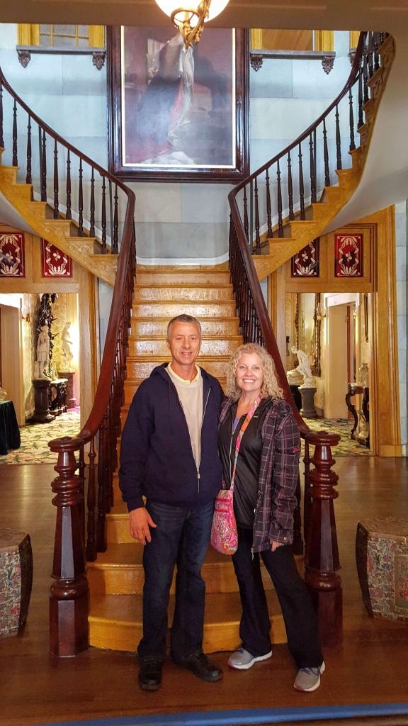 Grand Stairway, Belmont Mansion, Nashville, TN