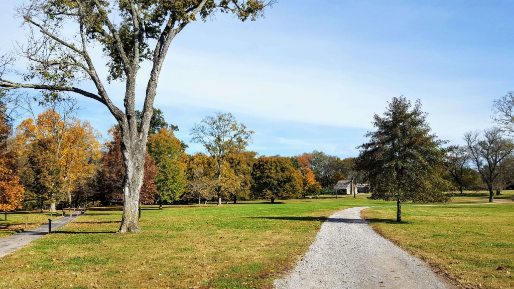 The grounds of the Hermitage, Nashville, TN