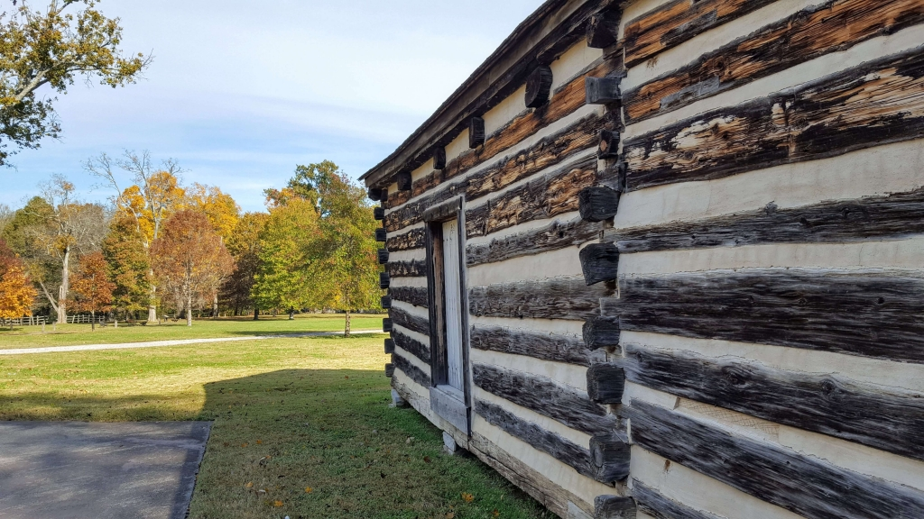 Uncle Alfred's cabin at the Hermitage, Nashville, TN