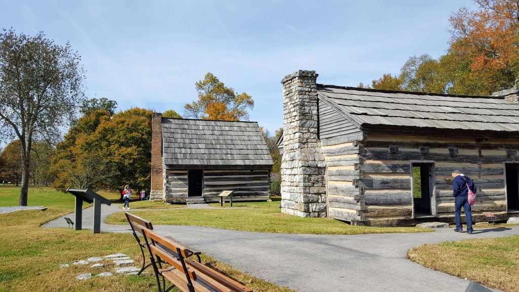 The cabins made from Andrew Jackson's original home