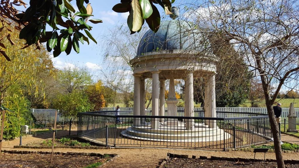 Andrew and Rachel Jackson memorial at the Hermitage, Nashville, TN